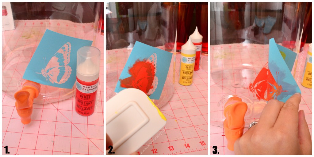 DIY Painted Drink Dispenser from SewWoodsy.com