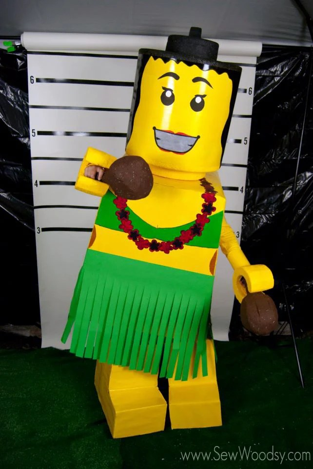 Hula Lego Costume