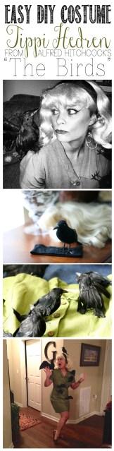 Easy DIY Costume- Tippi Hedren from The Birds