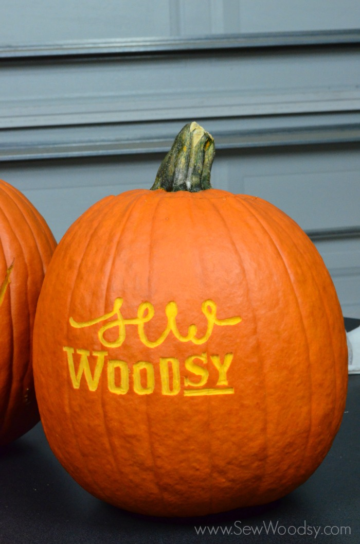 Pumpkin Carving 101 Sew Woodsy