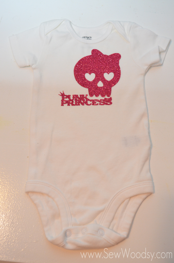 Punk Princess Onesie from SewWoodsy.com