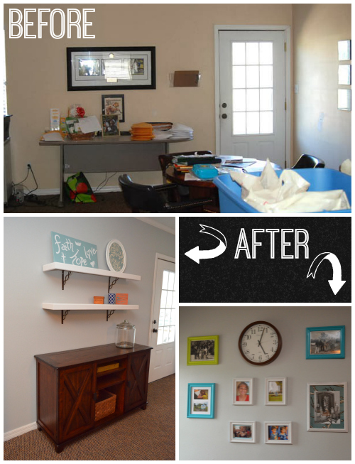 Before and after - Entryway