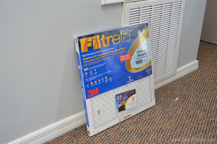 Filtrete Filters from SewWoodsy.com