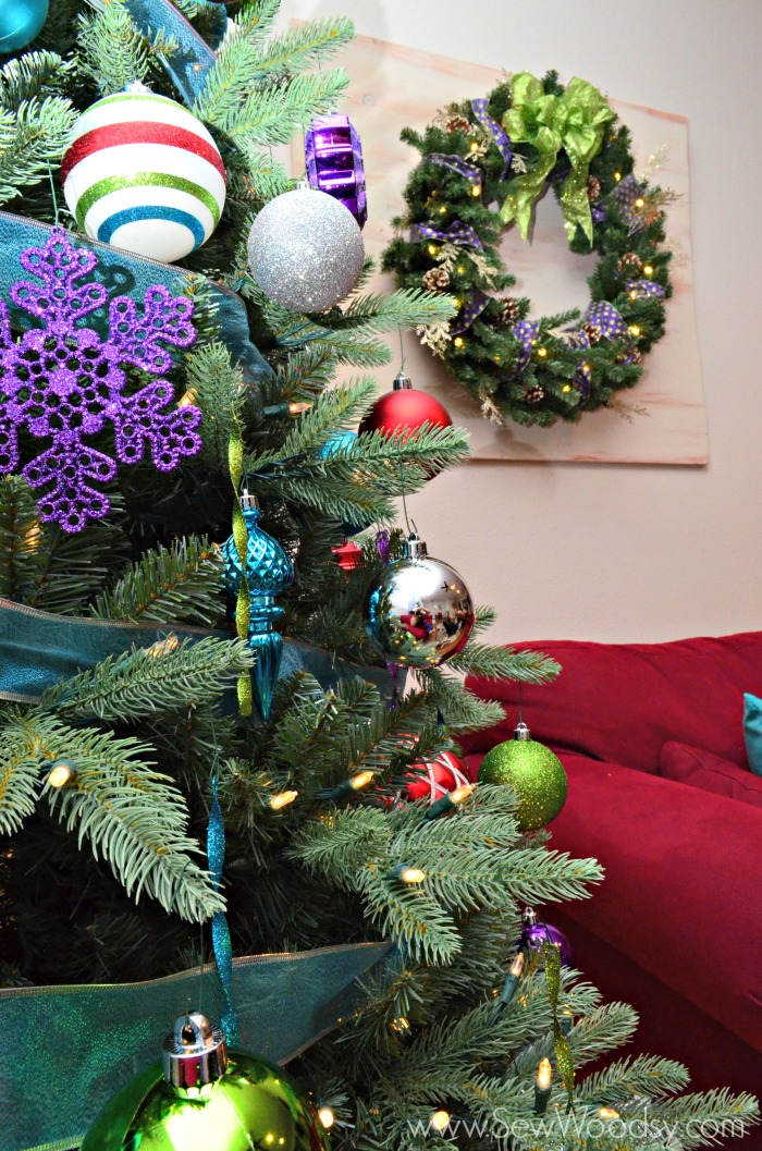 Wood Pallet Wreath Art