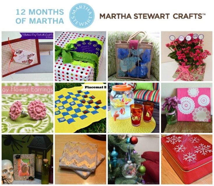 12 Months of Martha 2013 Recap #12MonthsOfMartha