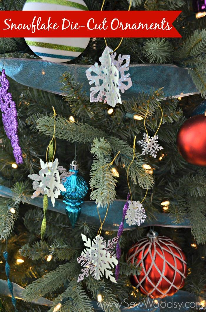 Snowflake Die-Cut Ornaments