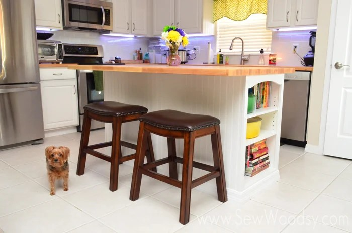 {Video} Installing Butcher Block on a Kitchen Island