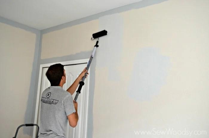 Painting the Nursery 2