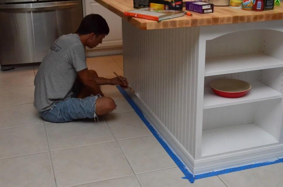 kitchen island bookcase 6