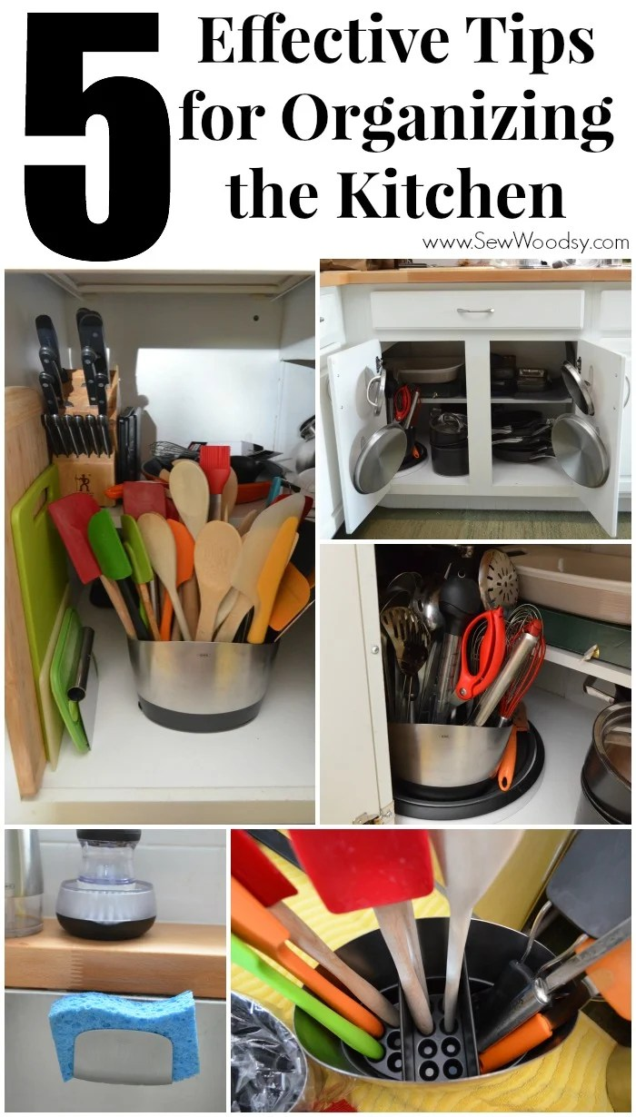 5 Effective Tips for Organizing the Kitchen