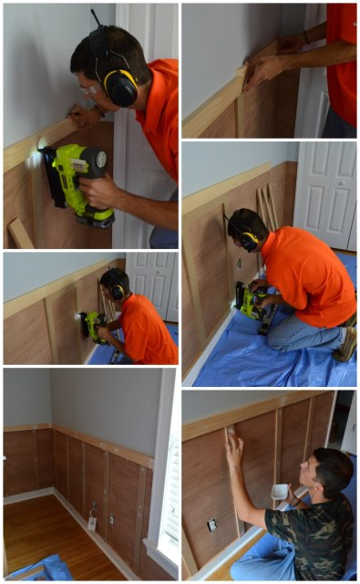 How to Install Board & Batten from SewWoodsy.com