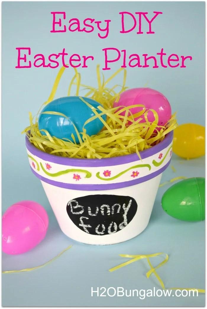 Easy DIY Easter Planter