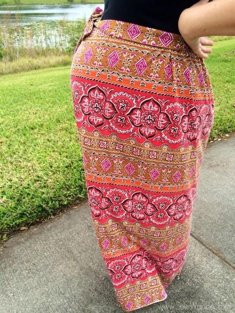 Maternity Maxi Dress from SewWoodsy.com