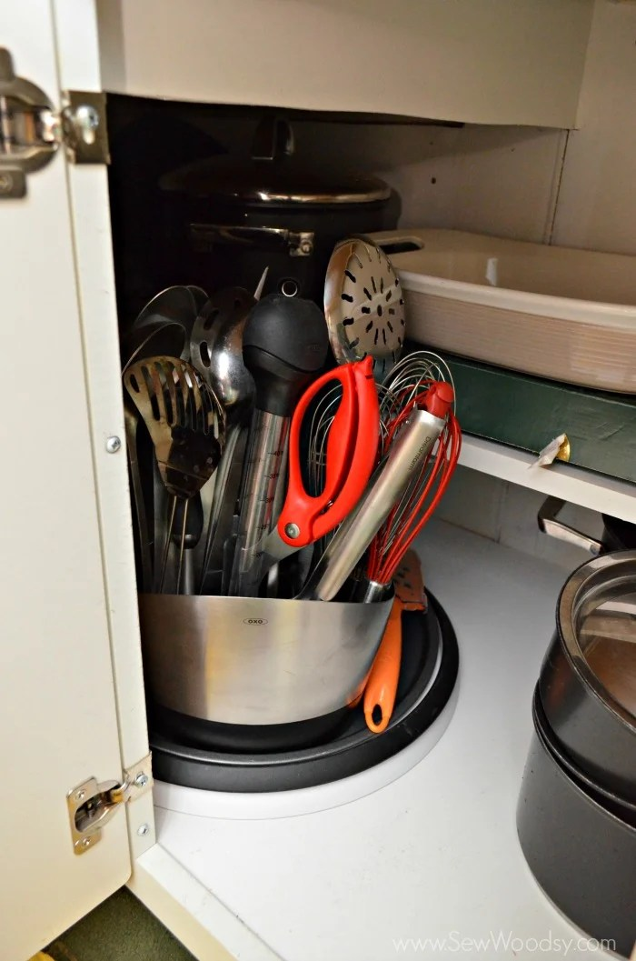 Organizing the Kitchen Cabinets with @OXO