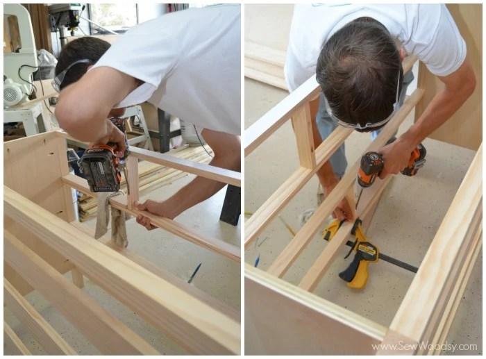 kendall dresser construction 5