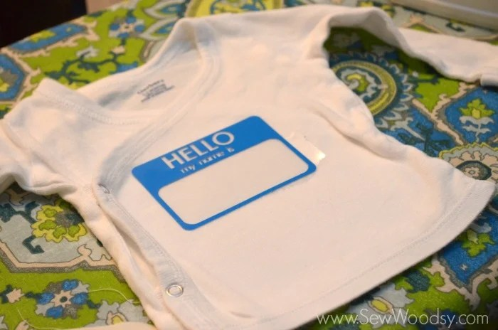Hello My Name Is Snap Tee