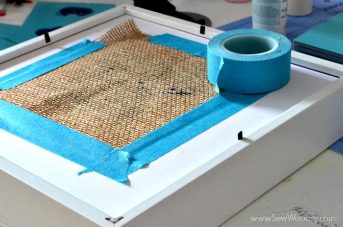 EASY 30 Minute Craft Project >> Burlap Starfish Art #12MonthsOfMartha #MarthaStewartCrafts #Craft #beach
