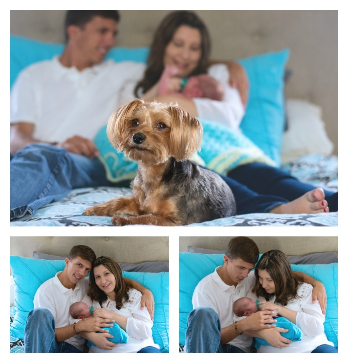 Family - - Newborn Photography Session