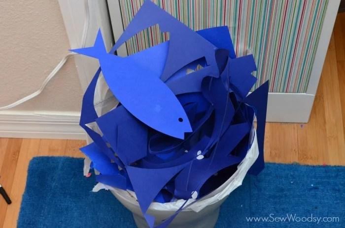 Paper Fish Nursery Decor