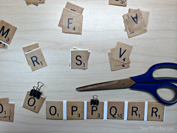 DIY Scrabble Costume