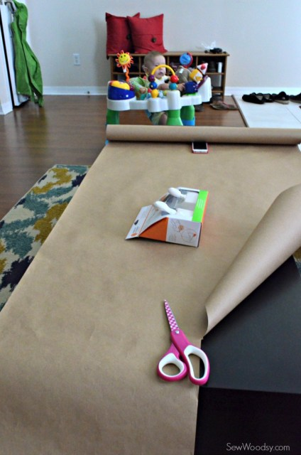 Spider Web Craft Paper Table Runner 1