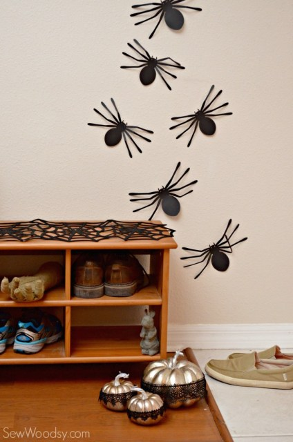 Spiders on the wall