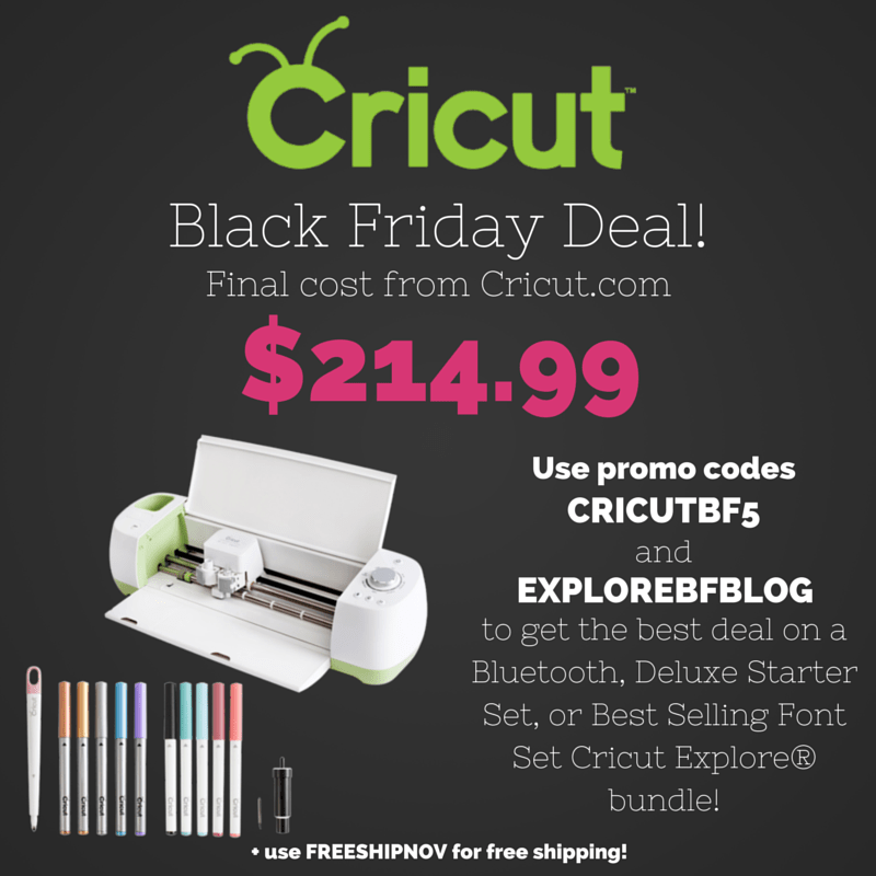 Deluxe Starter Set Cricut Explore Bundle