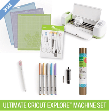 Ultimate Cricut Explore® Machine Set