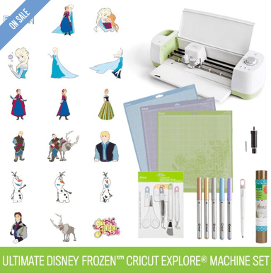 Ultimate Disney Frozen™ Cricut Explore® Machine Set