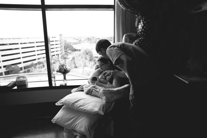breast feeding in hospital
