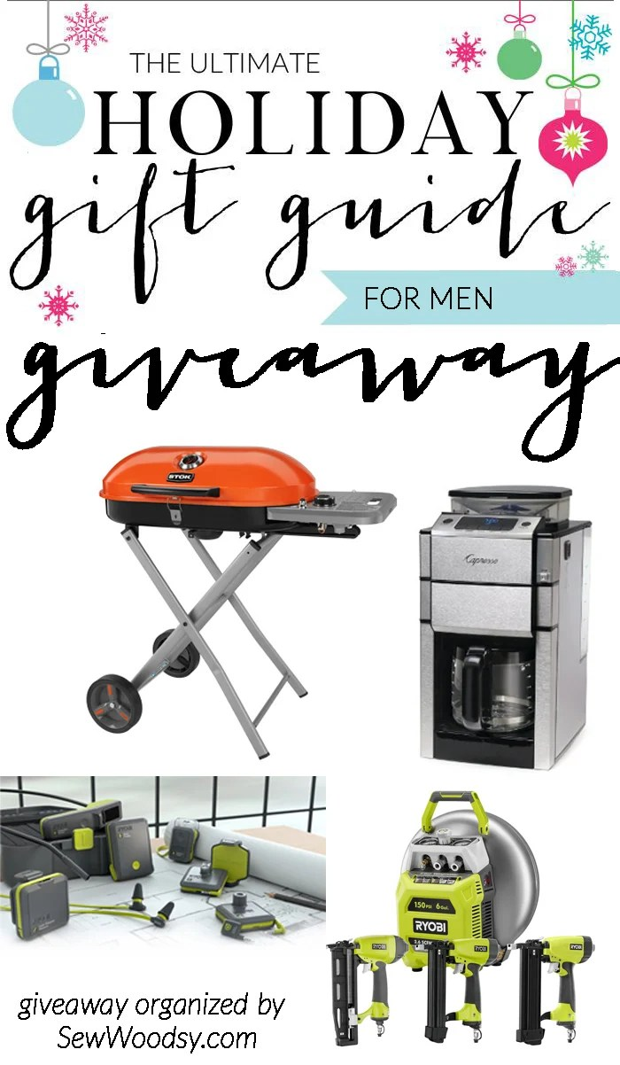 the ultimate gift guide for men giveaway valued over $600!