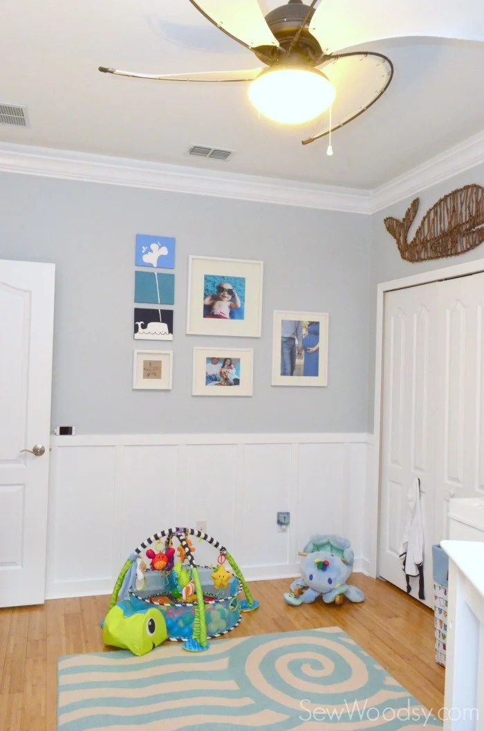 nursery gallery wall 9