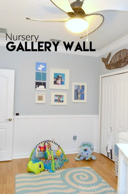 Nursery Gallery Wall #yourbigfinish