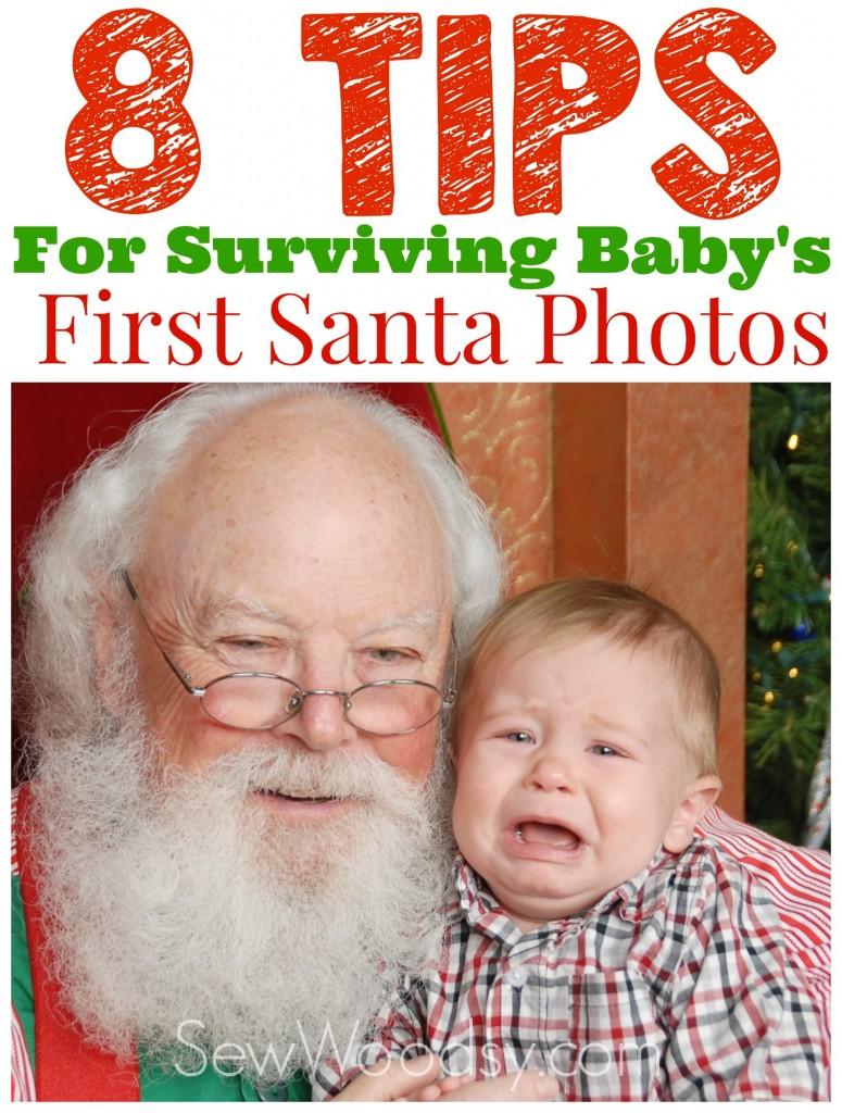 8 Tips For Surviving Baby's First Santa Photos