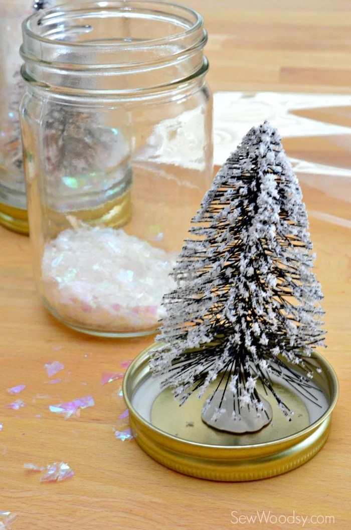 christmas tree mason jar 5