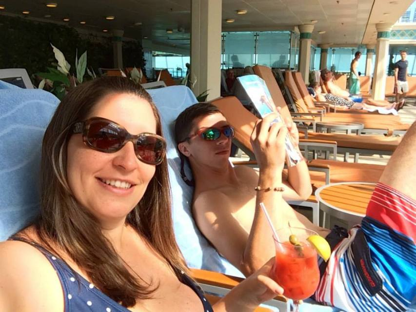 Cruising with an Infant adult time