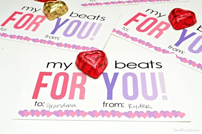 My Heart Beats For You Valentine Card 10