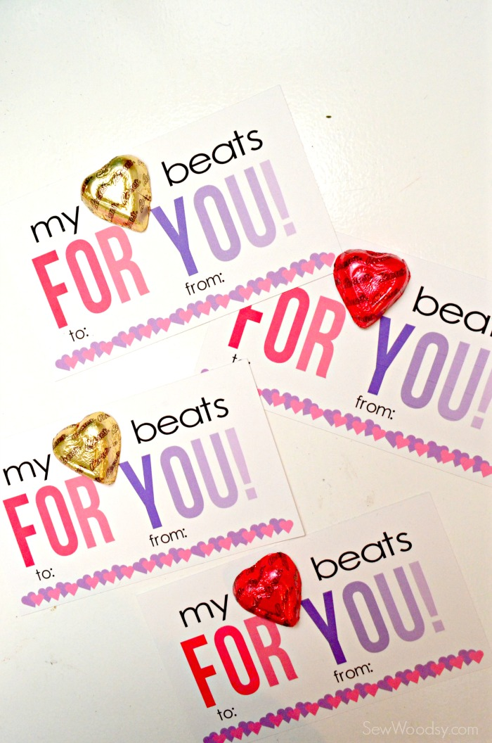 My Heart Beats For You Valentine Card 9
