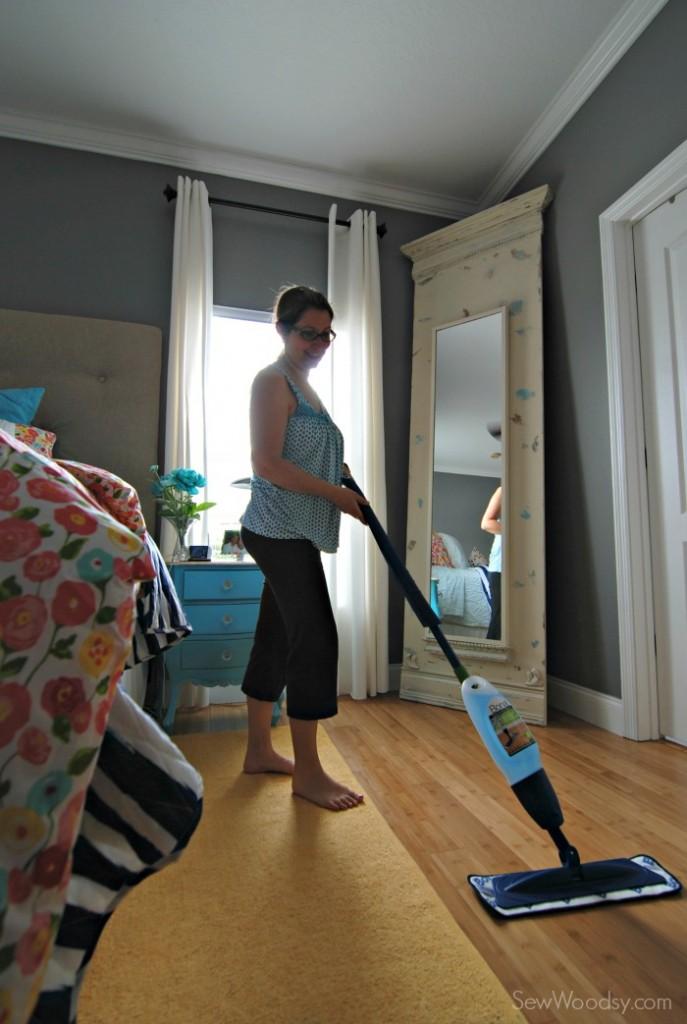 Bona Hardwood Floor Mop - how to clean hardwood floors