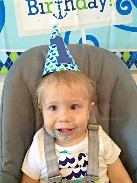 1st Birthday Cake Sugar High