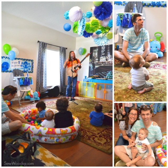 1st Birthday Party Details