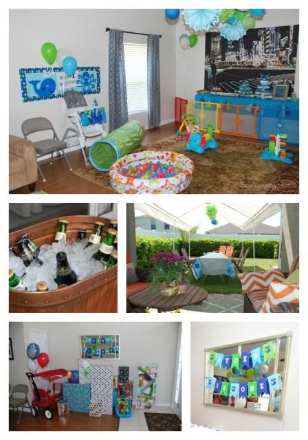 Whale Birthday Party Decor