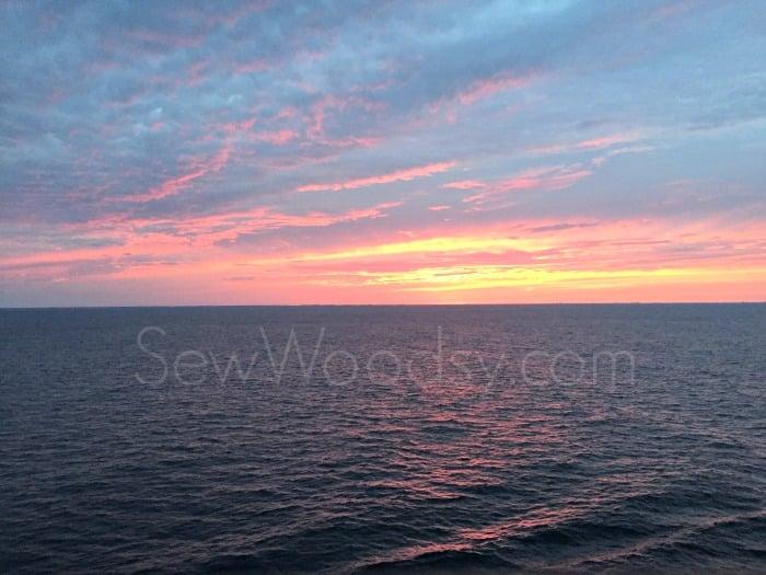 Caribbean Pink Sunset