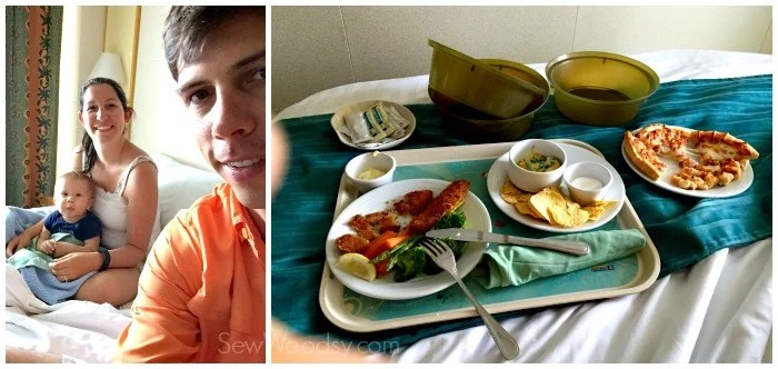 Room Service on a Cruise Ship with a 1 year Old