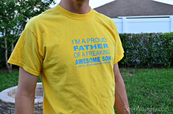 DIY I'm A Proud Father T-Shirt 9