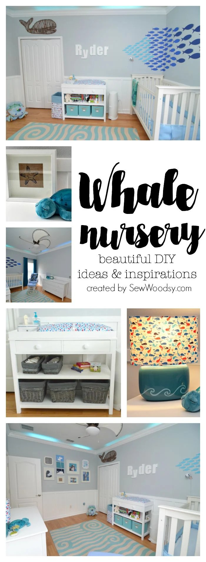 whale nursery - beautiful diy ideas and inspirations