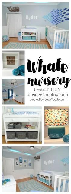 whale nursery - beautiful diy ideas and inspirations