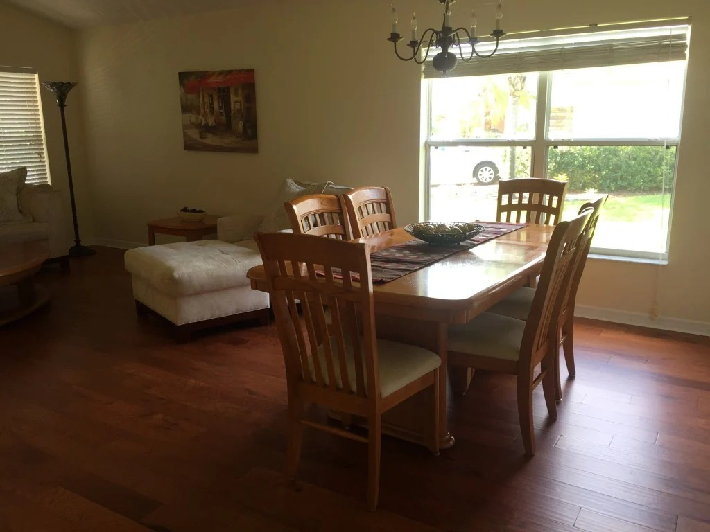 new home formal dining room