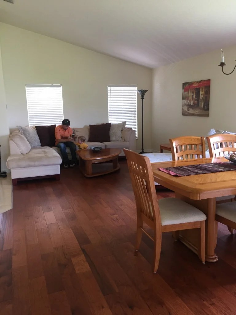 new home formal living and dining room
