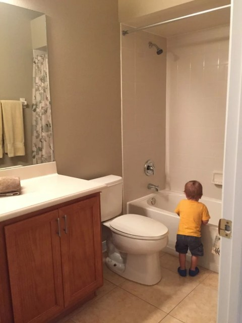 new home guest bathroom